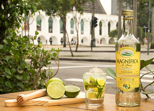 Caipirinha limão com Cachaça Magnífica - Rio de Janeiro